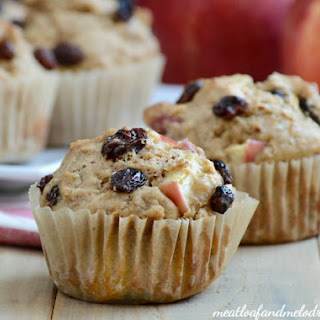 Apple Raisin Muffins