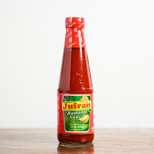 Jufran Banana Sauce (Hot & Spicy)