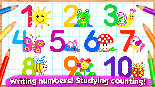 123 Drawud83cudfa8 Toddler counting for kids Drawing games 1.0.2.5 screenshots 1