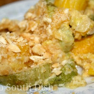 Summer Squash Casserole with Bacon
