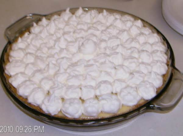 Sinful Lemon Pie Recipe