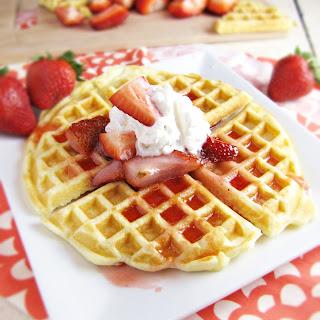 Mom's Perfect Eggy Waffles.