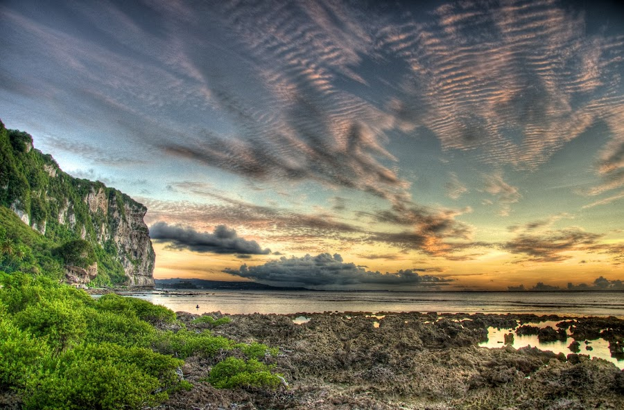 Behind Two Lover Point by Joshua T. Wood - Landscapes Waterscapes