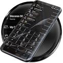 Dialer MetalGate Black theme icon