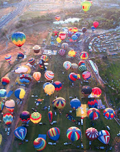 Photo: Louisville balloon race, I had few friends that went to this yesterday.