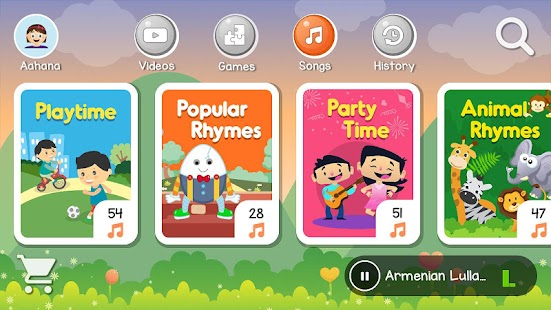 AppyStore Kids Learning Videos- screenshot thumbnail