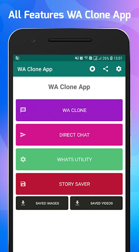 WA Clone App screenshot 1