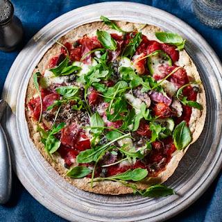 Easy Pizza with Parma Ham and Mozzarella Recipe