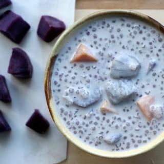 Bubor Cha Cha Purple Yam Dessert