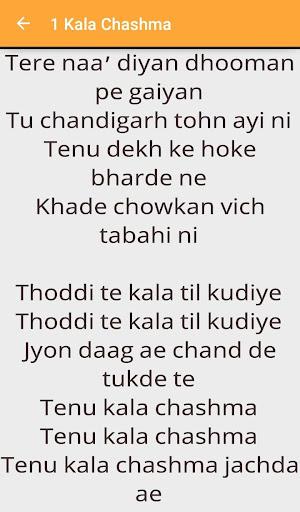 Download Baar Baar Dekho Lyrics Google Play softwares