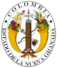 Coat of arms of New Granada (1830).svg