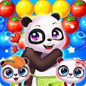 Panda Bubble Rescue Garden icon