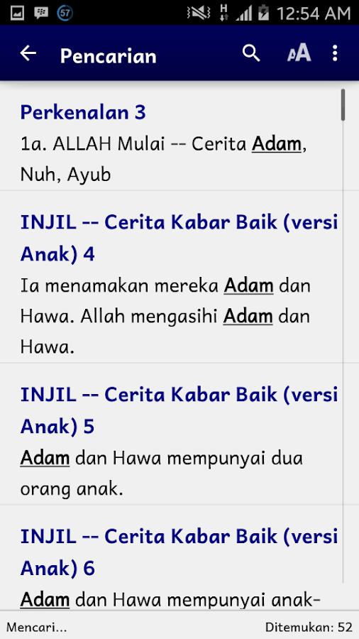 CIA - Cerita INJIL Audio- screenshot
