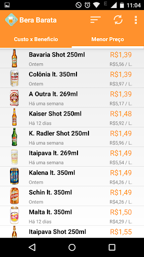 Cerveja - Bera Barata