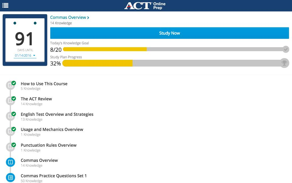How to Study for the ACT: 10-Step Plan - Online SAT / ACT ...