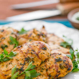 Grilled Moroccan Chicken.