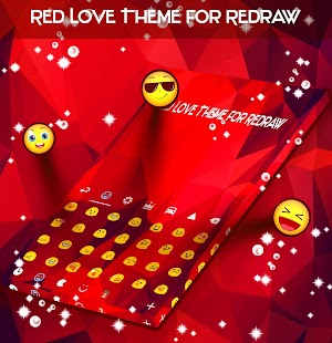 Red Love Theme for Redraw - náhled