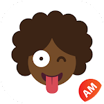 AfroMoji - African Afro Emoticon Stickers