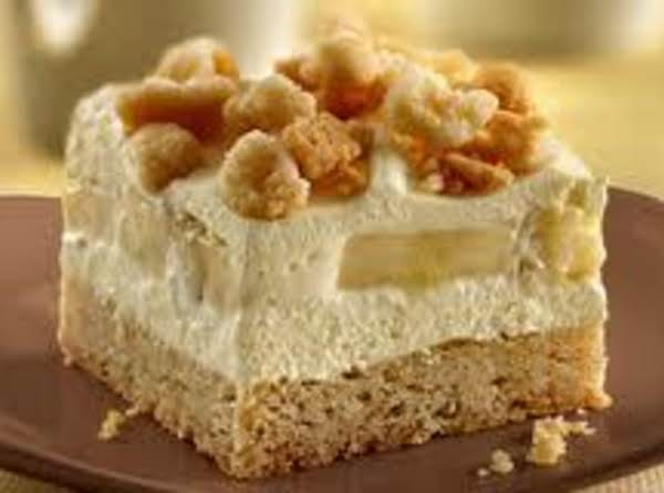 Banana Cream Squares Recipe