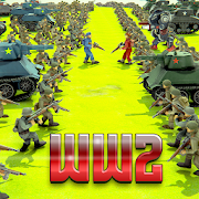 الحرب العالمية 2 معركة محاكي - WW2 ملحمة معركة