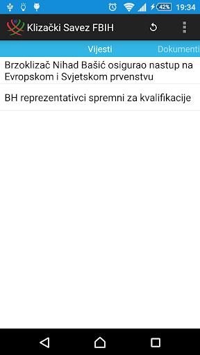 Klizacki Savez FBIH