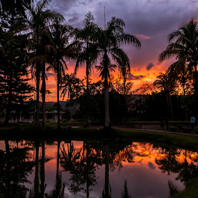 Twilight & Shadow by Ted Khiong Liew - Landscapes Sunsets & Sunrises
