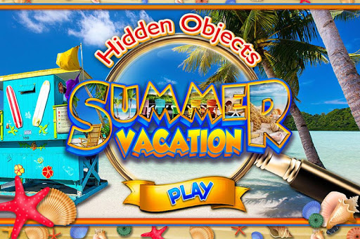 Hidden Objects Beach Vacation