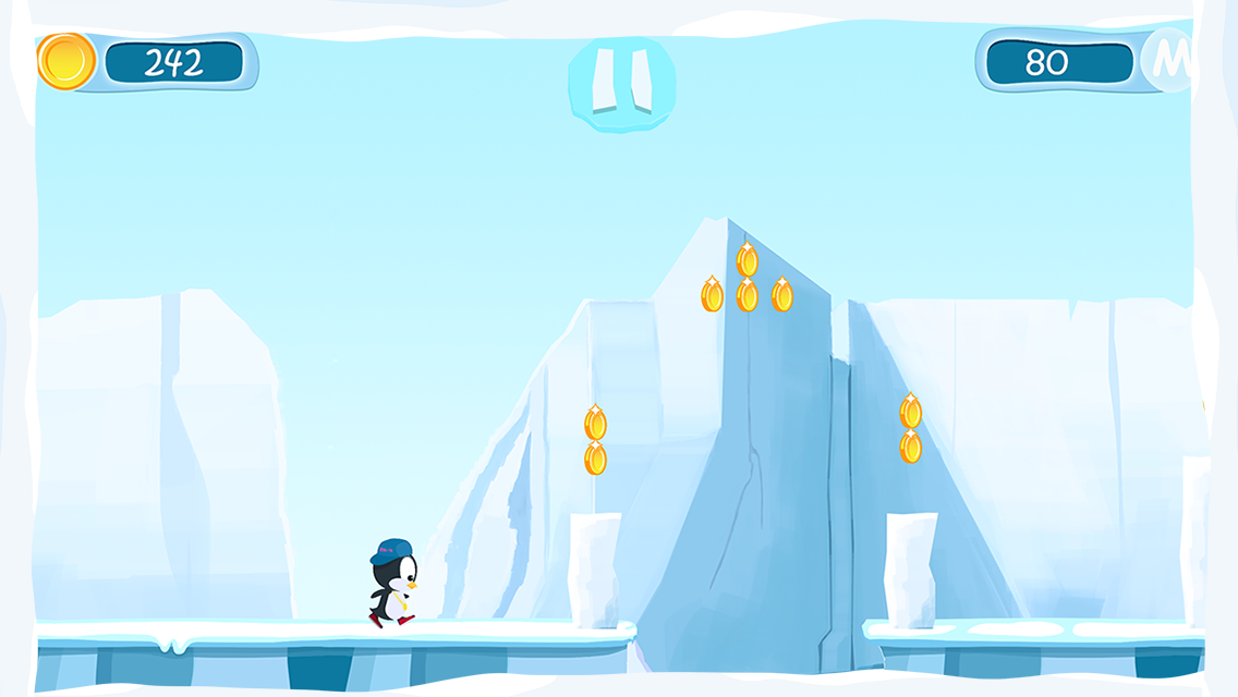 E-Me: Penguin Adventure- screenshot