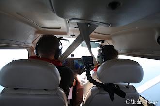 Photo: Stemningen i cockpit er bra.