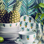 Introduce some fruity inspiration into your home this season with our pineapple home trend. Shop the collection now