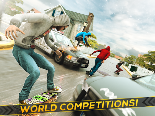 True Skateboarding Ride Skateboard Game Freestyle 2.11.7 screenshots 6