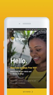 Moja Free WiFi Screenshot