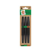 Crafters Companion Leonie Pujol Glitter Brush Pens 3pk - Evergreen UTGÅENDE