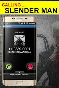 video call from slender man - náhled