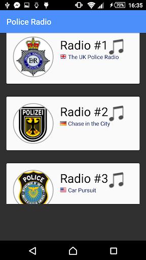 警察ラジオサウンド