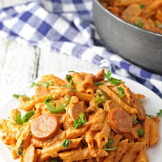 One Pot Spicy Sausage Skillet