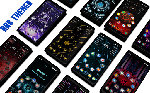 Screenshot for ARC Launcher Pro 2019 Themes,DIY,Wallpapers,Lock in Hong Kong Play Store