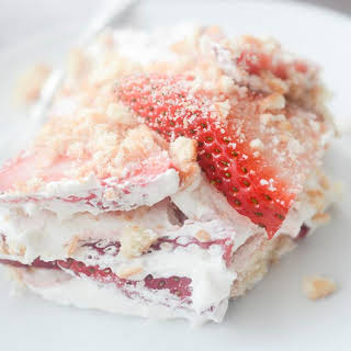 Strawberry Shortcake Lasagna.