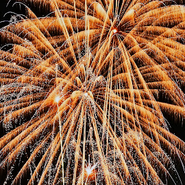 by Thomas Thain - Abstract Fire & Fireworks