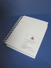 Photo: Protótipo de Agenda com Espiral - Vista de cima.