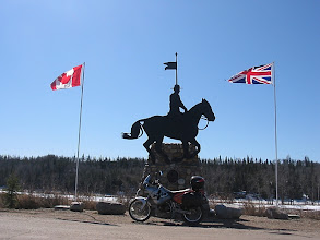 Photo: Mountie Memorial
