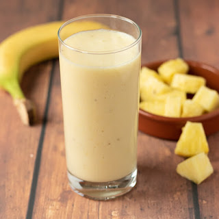 4-Ingredient Tropical Banana Smoothie.