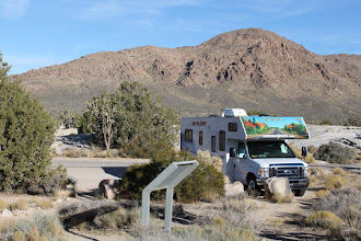Photo: Back to the RV. Heading to Hole in the Wall Campground
