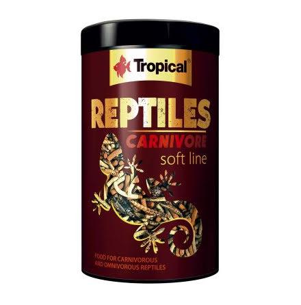 Tropical Soft Line Reptiles Carnivore 1000ml/260g