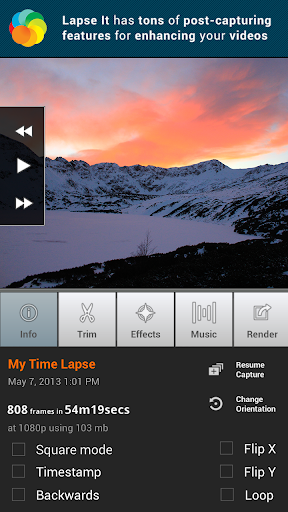 Lapse It • Time Lapse Camera 4.70 screenshots 2