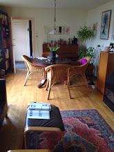 Photo: woonkamer met eiken geöliede vloer