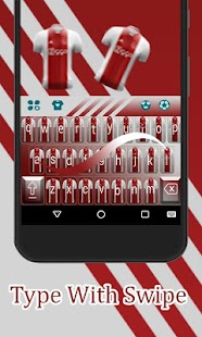 Fans AFC Ajax Keyboard Theme - náhled
