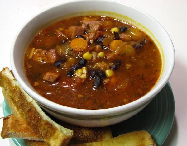 Cosy Ham And Bean Soup Recipe