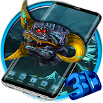 Dragon Head 3D Launcher Theme Icon