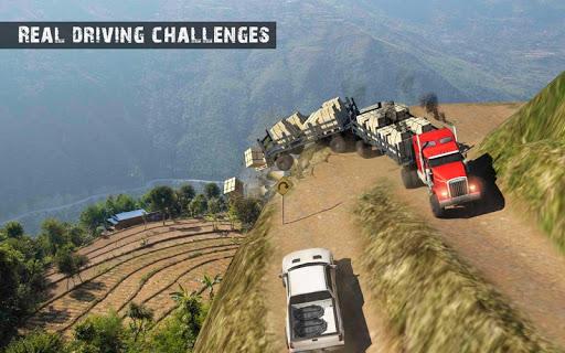 USA Truck Driving School: Off-road Transport Games 1.10 screenshots 8